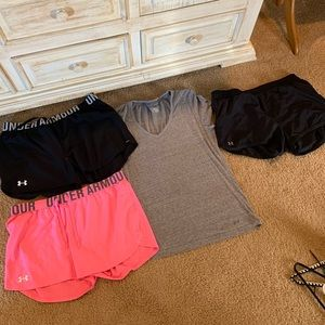 Under Armour lot size xl and large